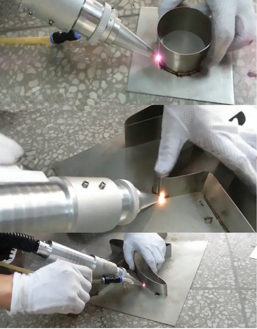 handheld laser welding samples