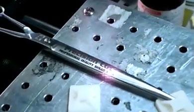 不锈钢器械激光标记