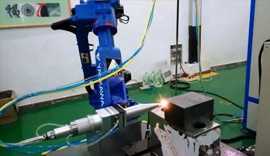 机械臂激光焊接视频