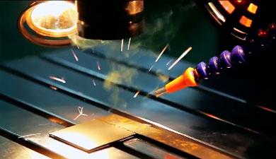 大型模具焊接机操作视频